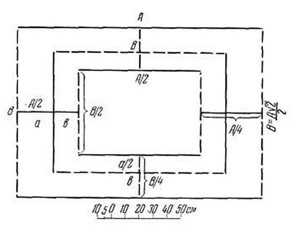 прямоугольный вавилон-42 линии