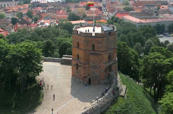 Башня Гидемина в Вильнюсе