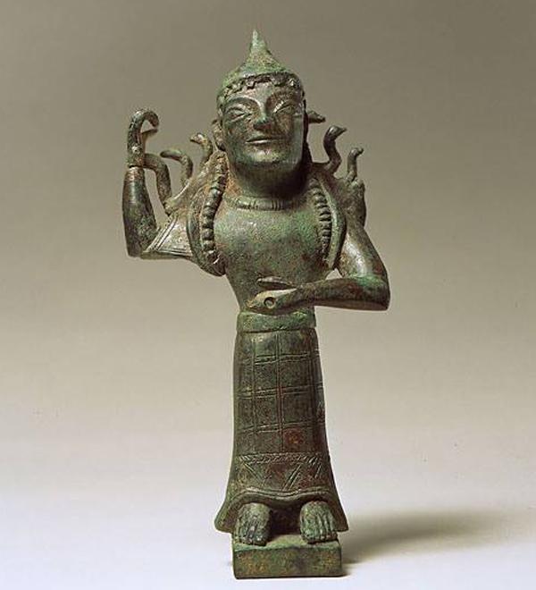 Промахос (Мать Богов). 580 г. до н.э. Сицилия.
