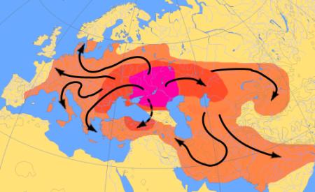 karta-migracij-indoevropejcev-4000-1000do-n-e