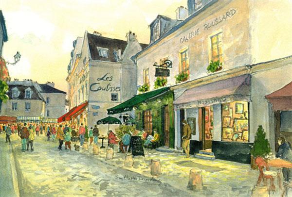 1807-paris-place_du_tertre1-montmartre-decoudun-2