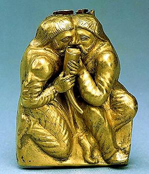 Боспорское царство-курган Куль-Оба-4 векдо.н.э-побратимство