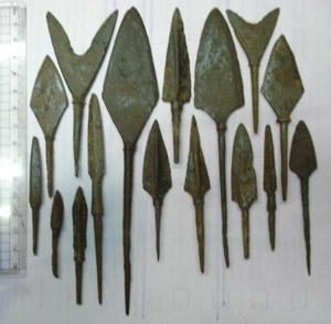 Скифские наконечники стрел