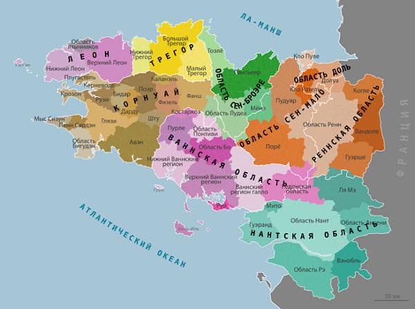 Исторический регион Котантен (Шербурский полуостров)