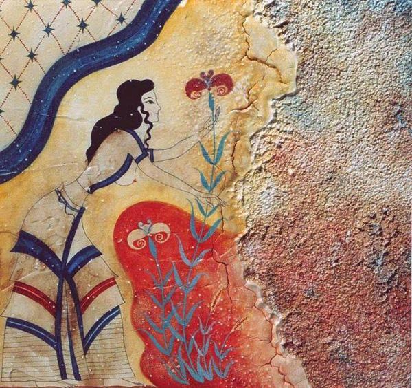 freska-zhenshh-i-lotos