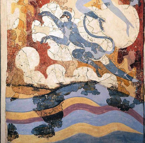 Картинки по запросу обезьяны на эгейских фресках