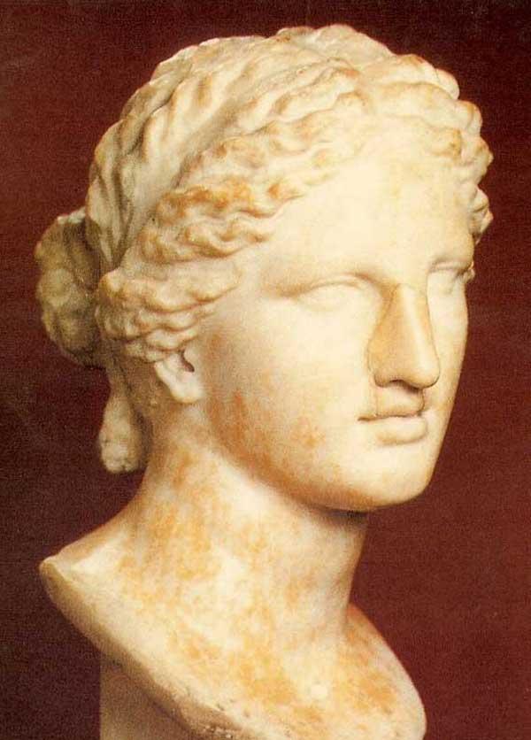 Богиня Афродита, скульптор Прокситель