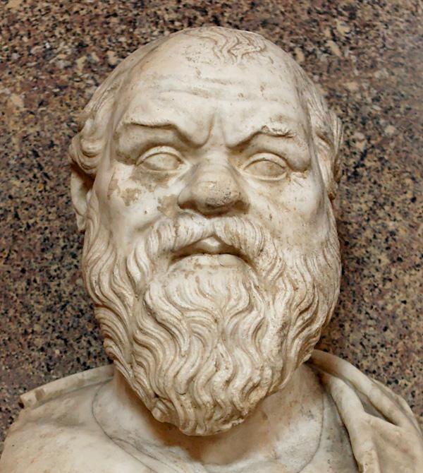 Древнегреческий философ Сократ (469 –  399 г.г. до Р.Х.)