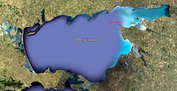 меотида- Азовское море