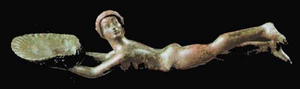 Бронзовые ложки из гробницы Boncia -480 г до н.э.