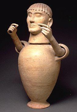 Канопа (погребальная урна). VI в. до н.э.