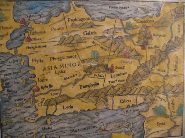 Пафлагония — южный берег Чёрного моря
