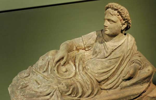 Тарквиния.саркофаг, IV века до н.э.