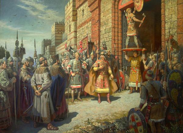 Щит на вратах Царьграда