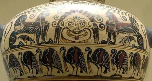 апи-540-530 до н.э. -вульчи, гаргона, сфинксы-и-вороны-