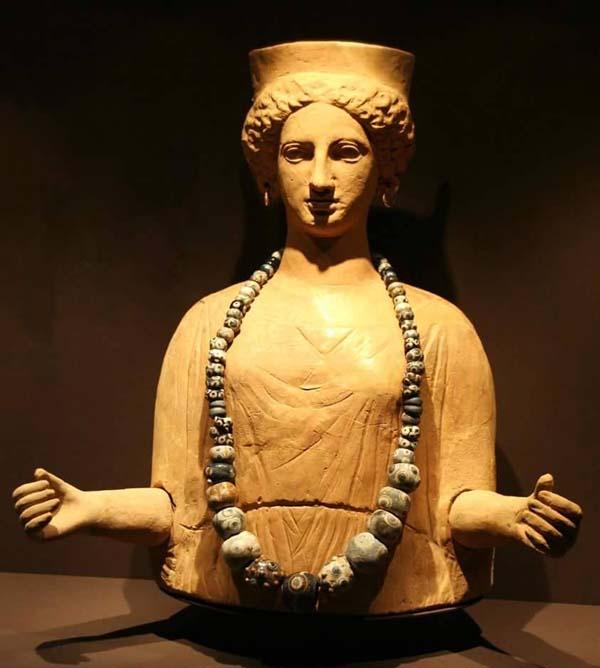 богиня-танит в бусах=4 в н.э.