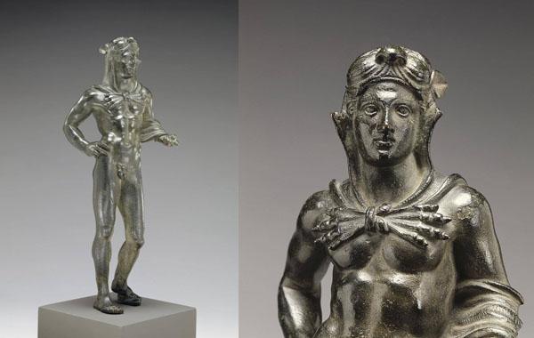 боги -Геракл-бронза-этрус-320 г. до н.э.
