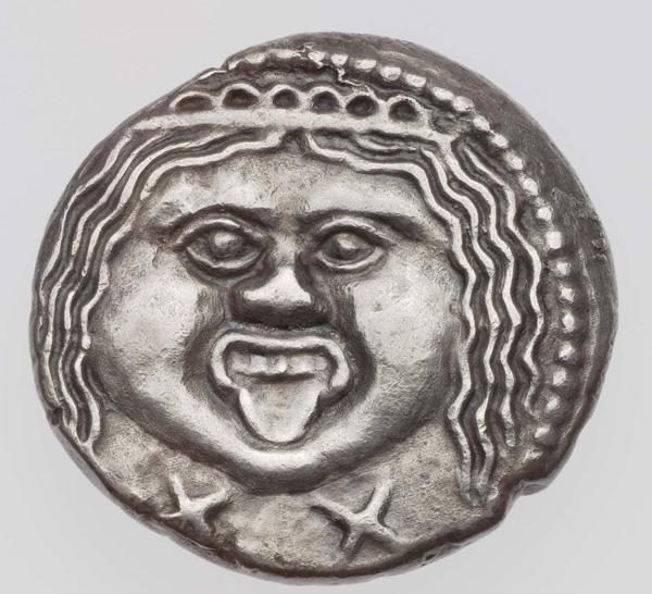 боги-голова Горгоны, ca. 211-206 до н.э.