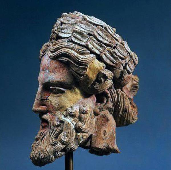 боги-зевс-этрус-терракота. 5 век до н.э.. Орвието,