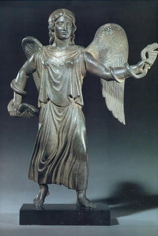 боги-со змеями-она же харун-425-400 гг. до н.э