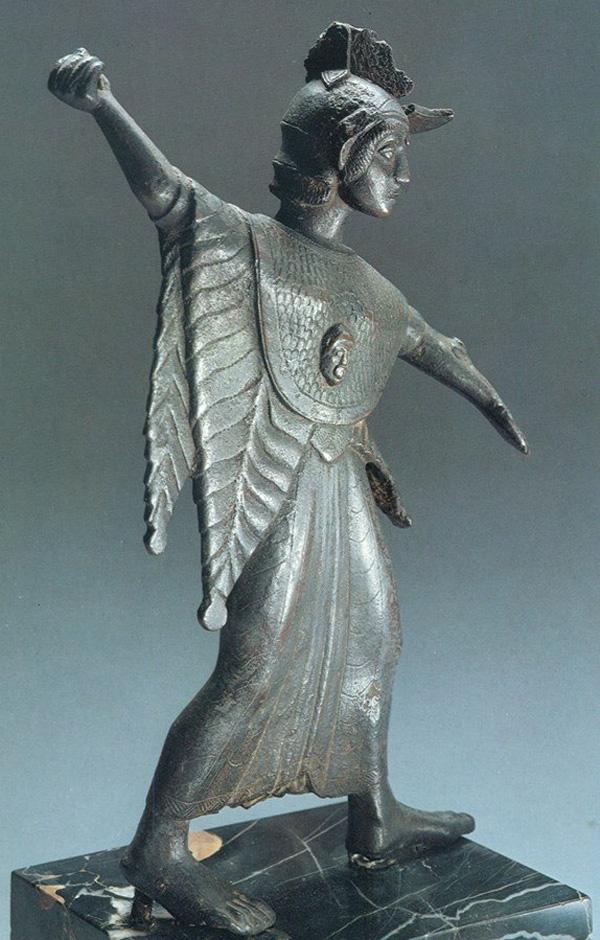 боги-V веке до н.э.-Менерва-Праматерь-воин с копьём