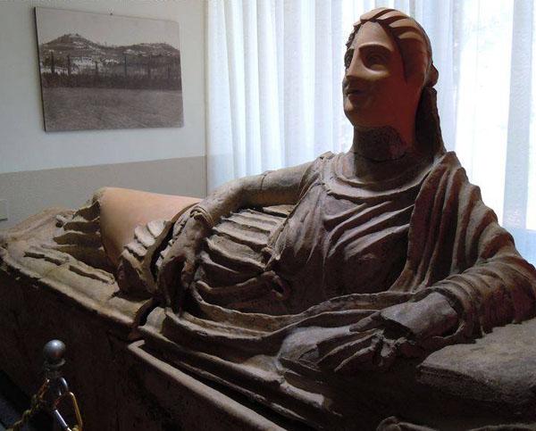 дама-etrusco De Feis