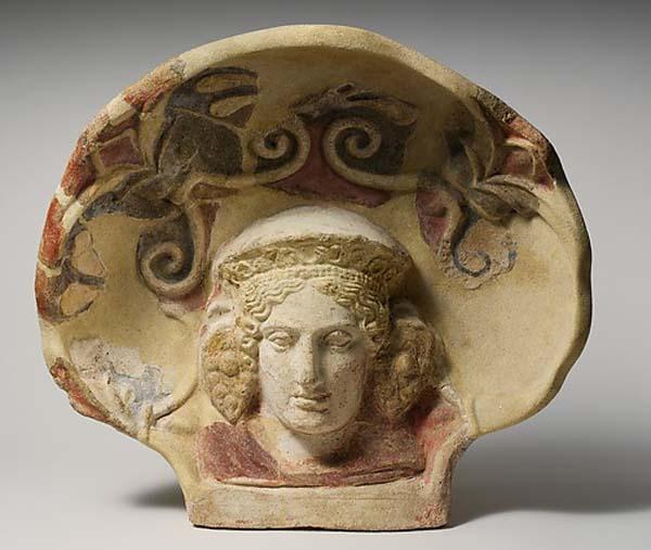 дам-Etruscan, Cerveteri- 4 в. до н.э.