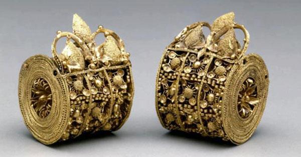 золот.Серьги этрусков - 4 в до н.э.