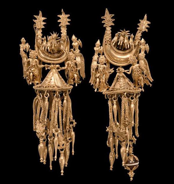 золот. лунница и колесница солнца- 3 в до н.э.