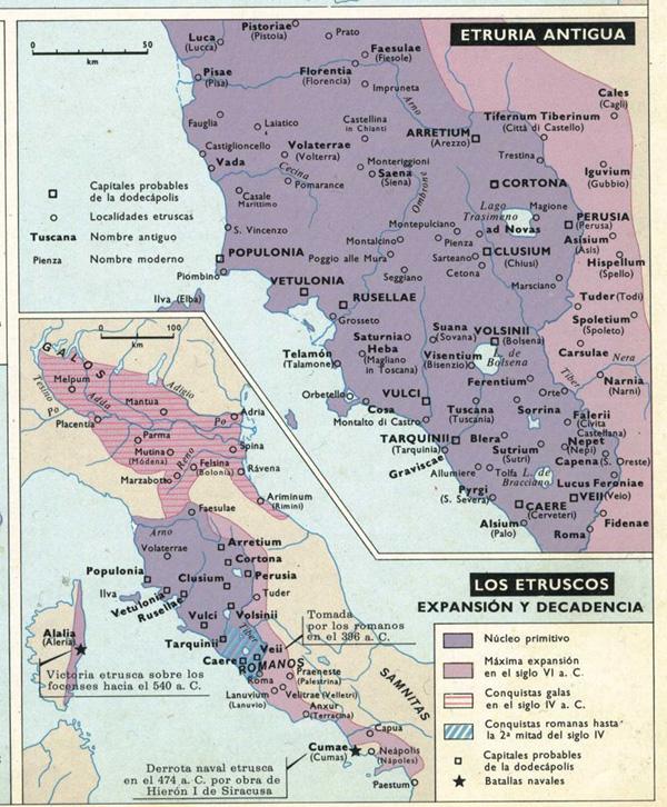 карта-этруски-6-4 вв до н.э.