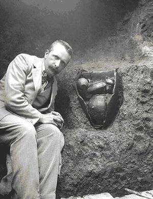 макет-фото-Гробница Долио Х в. до нашей эры Джакомо Бони - архитектор и археолог