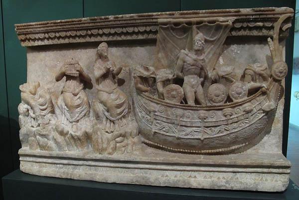 одиссей и сирены-3-2 в. до н.э.