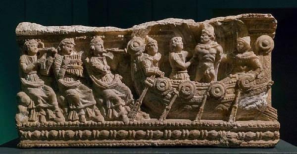 одиссей слушает пение сирен-3-2 вв. до н.э.