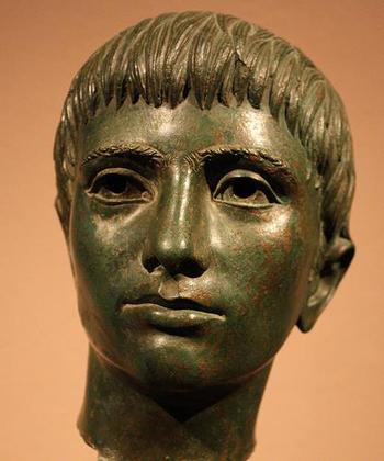 реб.-этреск-бронз. мальчик- 3 в до н.э.