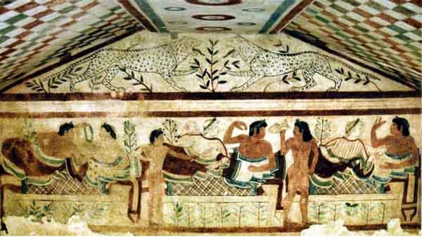 фреска-львы-тарквинии-3