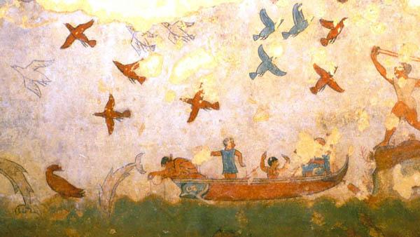 фреска-птицы-