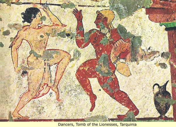 фреска-танец-тарквиний