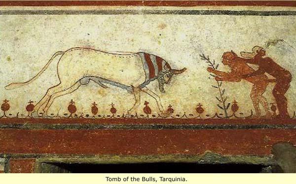 фреска-Tarquinia_1