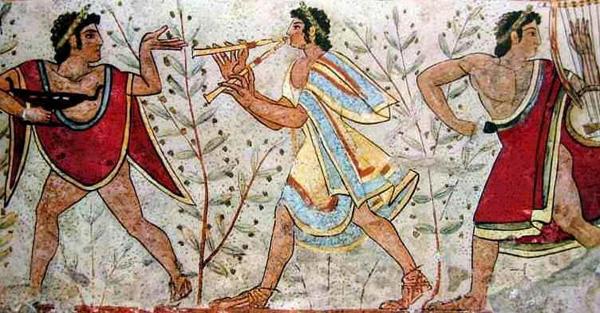 фреска-etruschi