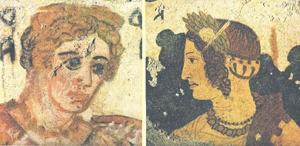 фрески-дамы