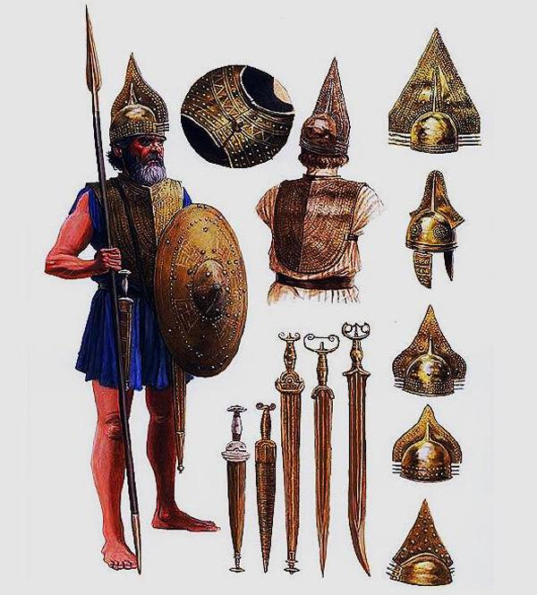 этрус-воин-8в. до н.э.
