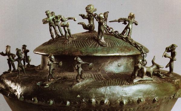 Виллановы (X-VIII в.до н.э. - бронза ваза