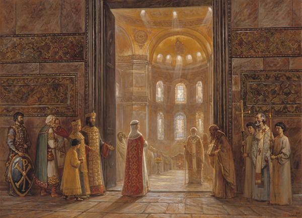01-княгиня ольга в византии