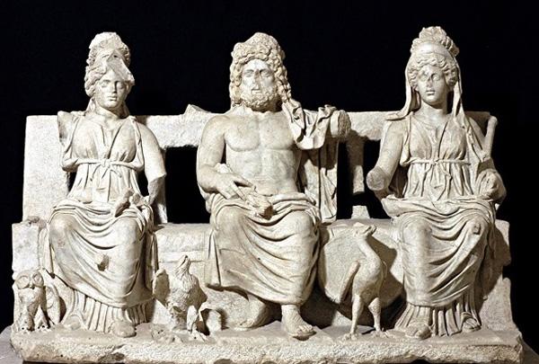 01-Triada Capitolina, Капитолийская троица (160-180 н.э.)