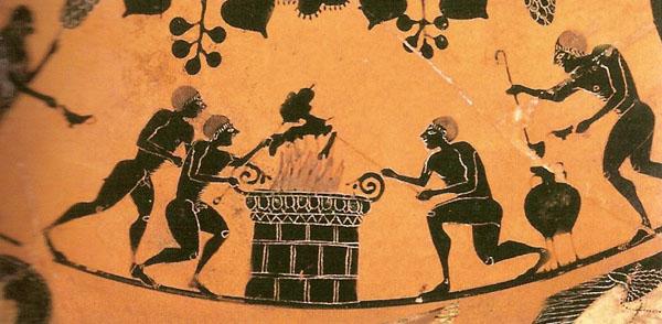 525-500 г. до н.э.-шашлык-гидрия- etrusca,