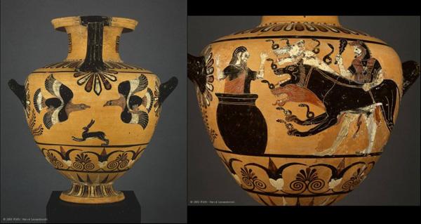 6 в до н.э.геракл и цербер-