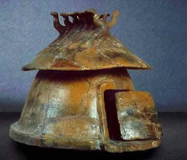 8 в. до н.э.-Вулчи,Урна cineraria в форме хижины