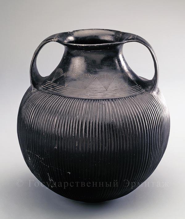Amfora-этрусской техники-7в.до н.э.