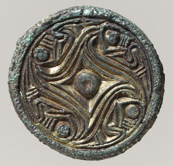 Brooch, 600–700