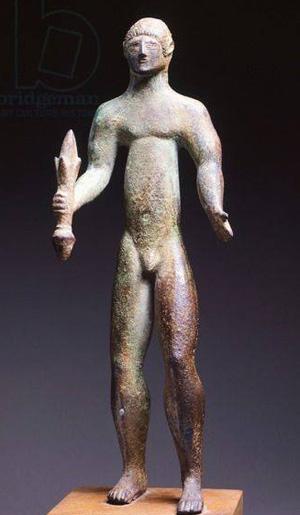 tinia с молнией-ваджрой- 5 в. до н.э.